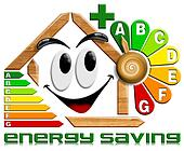 Energy saving wood with flower cloc