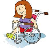 Handicapped Clip Art - Royalty Free - GoGraph