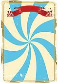 circus grunge background