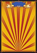 Sun circus background