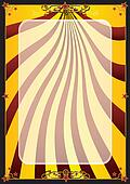 Gold circus background