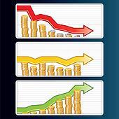 Financial Bar Graphs