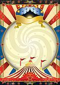 big top circus poster