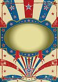 circus vintage poster