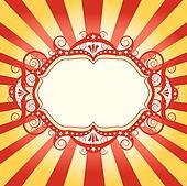 frame circus flyer