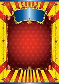 Happy circus poster