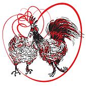 Love the Cock and Hen