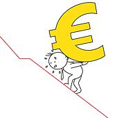 man carrying euro