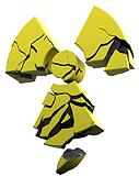 collapsing radioactivity logo