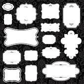 Vector White Frame Set