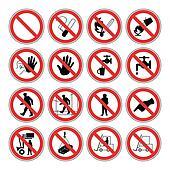 Hazard warning, health & safety