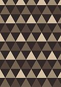 Triangle abstract vector background