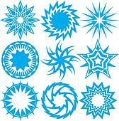 Blue Starbursts