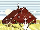 Winter Wheat Farm