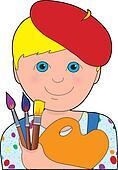 Artist Child Boy