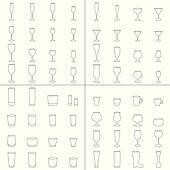 Wine Beer Glass Cup vector