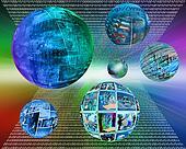 six spheres