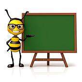 Bee hold and green board