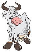 The sad cow