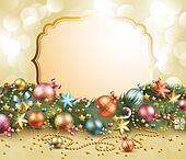 Christmas vintage garland