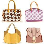 Handbag Clip Art - Royalty Free - GoGraph