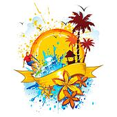 Caribbean Clip Art - Royalty Free - GoGraph