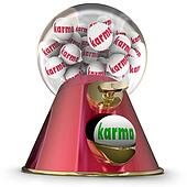 Karma Gum Ball Machine Win Best Good Luck Destiny Fate