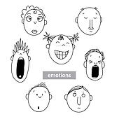 Emotion-people-vector-set