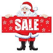 Santa and Christmas Sale