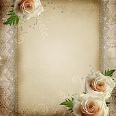 vintage beautiful wedding background
