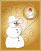 Santa Claus - greeting card