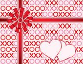Hugs and Kisses Present, Lace Bow