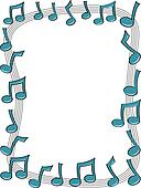 Music Note Border