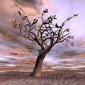 Fantasy tree - 3D render