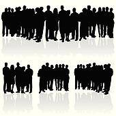 people group silhouette