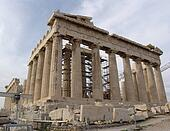 Acropolis of Athen with Parthenon Temple