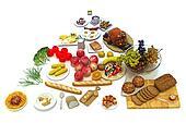 Concept food pyramid