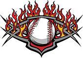 Baseball Softball Ball Template wit