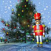 Toy Soldier Christmas Tree