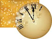 New Year?s clock