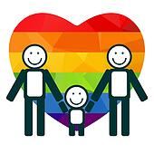 free gay family clip art