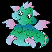 BaBaby dragon.