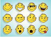 comic faces