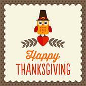 Cute Thanksgiving card