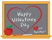 Happy Valentines, Love My Teacher