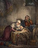 Baby Jesus with Joseph & Mary