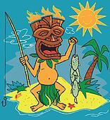 Tiki Fisherman
