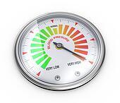 3d high blood pressure meter