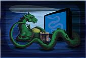 Dragon watch TV