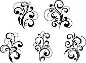Floral elements and motifs